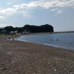 シルバーウィークの三戸浜海岸