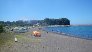 水の綺麗な三戸浜海岸・動画