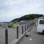 和田長浜海岸でバーベキュー、楽しそう