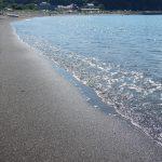今日(2017.09.10)の三戸浜海岸。